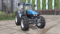 New Holland TS115 loader mounting for Farming Simulator 2017