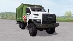 Ural Next (4320-6952-72) garbage truck for Farming Simulator 2017