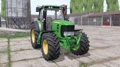 John Deere 7430 Premium dual rear for Farming Simulator 2017