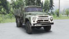 ZIL 130 dark grayish-green for Spin Tires