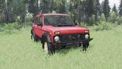 VAZ 2131 Niva for Spin Tires