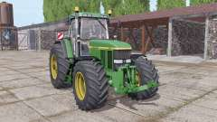John Deere 7800 wide tyre for Farming Simulator 2017