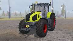 CLAAS Axion 950 bright yellow for Farming Simulator 2013