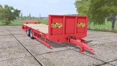 Herbst 24FT low loader for Farming Simulator 2017