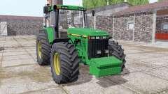 John Deere 8410 front weight for Farming Simulator 2017