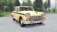 Checker Marathon Taxi (A11) 1970 for Spin Tires