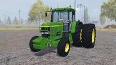 John Deere 7810 dual rear for Farming Simulator 2013