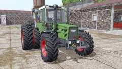 Fendt Favorit 611 LSA Turbomatik E dynamic hoses for Farming Simulator 2017