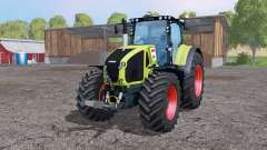 CLAAS Axion 950 twin wheels for Farming Simulator 2015