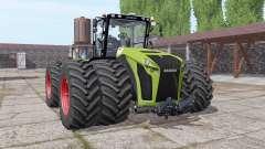 CLAAS Xerion 5000 twin wheels for Farming Simulator 2017