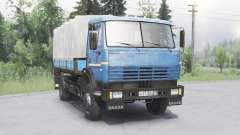 KamAZ 43253 blue for Spin Tires