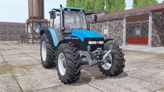 New Holland TM150 vivid blue for Farming Simulator 2017