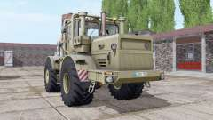 Kirovets K-700A dark-grey-yellow for Farming Simulator 2017