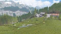 Tyrolean Alps v1.2 for Farming Simulator 2017