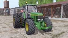John Deere 7810 dual rear for Farming Simulator 2017