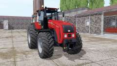 Belarus 3522 bright red for Farming Simulator 2017