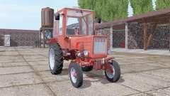 T-25 soft-red for Farming Simulator 2017