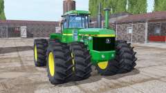 John Deere 8440 twin wheels for Farming Simulator 2017