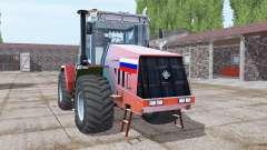 Kirovets K-744R3 bright red for Farming Simulator 2017