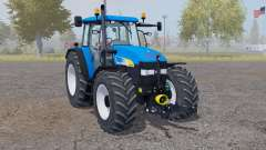 New Holland TM 175 vivid blue for Farming Simulator 2013