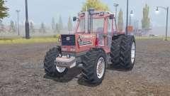 Fiatagri 180-90 Turbo DT dual rear for Farming Simulator 2013