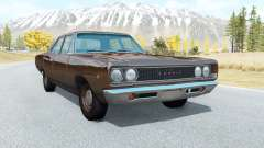 Dodge Coronet sedan (WL-41) 1968 v3.1 for BeamNG Drive
