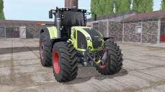 CLAAS Axion 930 soft yellow for Farming Simulator 2017