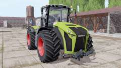 CLAAS Xerion 4000 Michelin tires for Farming Simulator 2017