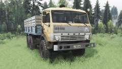 KamAZ 43114 soft-orange for Spin Tires