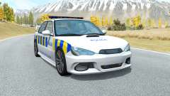 Hirochi Sunburst Greater Manchester Police for BeamNG Drive