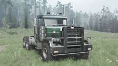Peterbilt 379 Day Cab for MudRunner