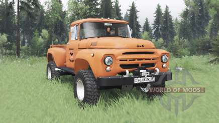 ZIL 130 Ginger for Spin Tires