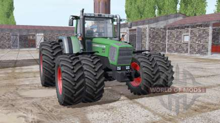 Fendt Favorit 818 green special for Farming Simulator 2017