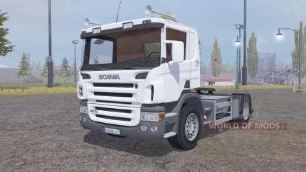 Scania P420 4x4 tractor 2004 for Farming Simulator 2013