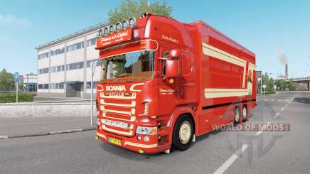 Scania R620 Fleurs for Euro Truck Simulator 2