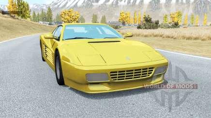 Ferrari 512 TR 1991 for BeamNG Drive