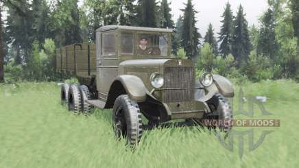 ZiS 6 1933 for Spin Tires