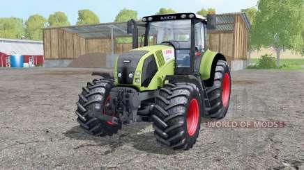 CLAAS Axion 830 interactive control for Farming Simulator 2015