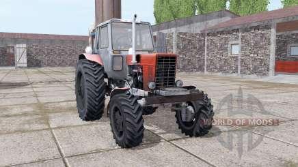 MTZ 82 Belarus Turbo for Farming Simulator 2017
