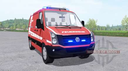 Volkswagen Crafter Van 2011 Feuerwehr v0.9 for Farming Simulator 2017