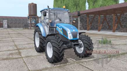 New Holland T4.75 blue for Farming Simulator 2017