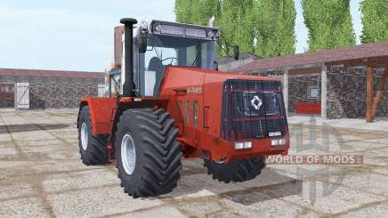 Kirovets K-744R3 moderately red for Farming Simulator 2017
