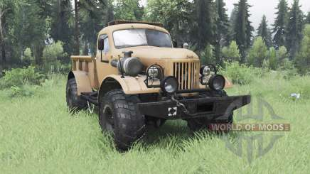 ZIL 157 4x4 Lumberjack for Spin Tires