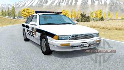 Gavril Grand Marshall FBI Police v1.5 for BeamNG Drive