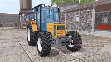 Renault 90-34 bright orange for Farming Simulator 2017