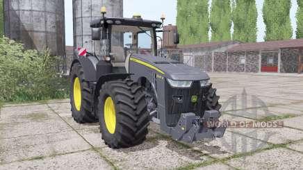 John Deere 8400R Black Edition for Farming Simulator 2017