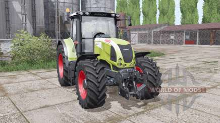 CLAAS Arion 630 interactive control for Farming Simulator 2017