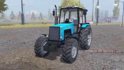 MTZ-1221 Belarus bright blue for Farming Simulator 2013