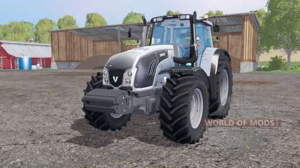 Valtra T163 grayish blue for Farming Simulator 2015