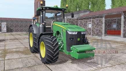 John Deere 8370R front weight for Farming Simulator 2017